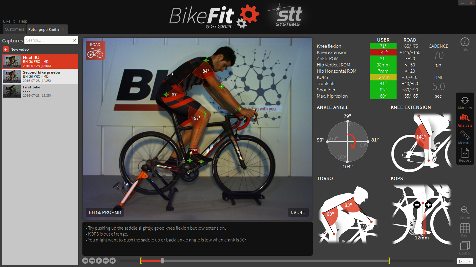 Bike Fitting Video