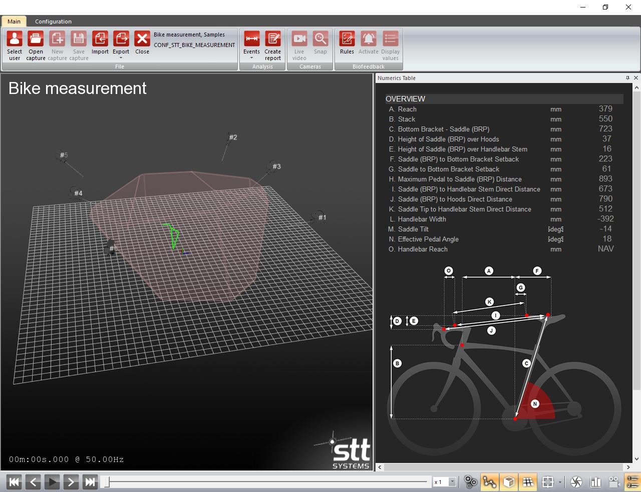 3DMA Bike Measurement