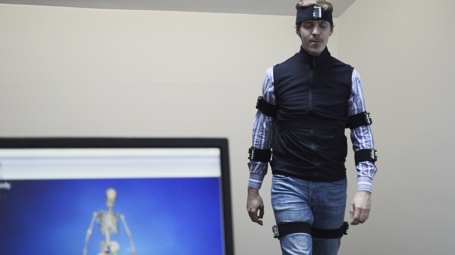 iSen Full Body IMU Motion Capture