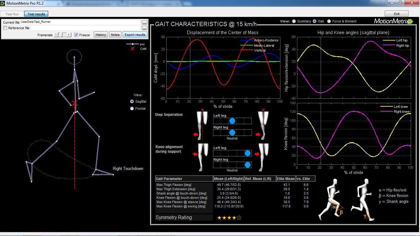 Automatic Kinematic Analysis